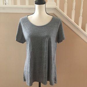 LuLaRoe Tops - Lularoe | Classic Solid Grey Large Tee t-shirt L